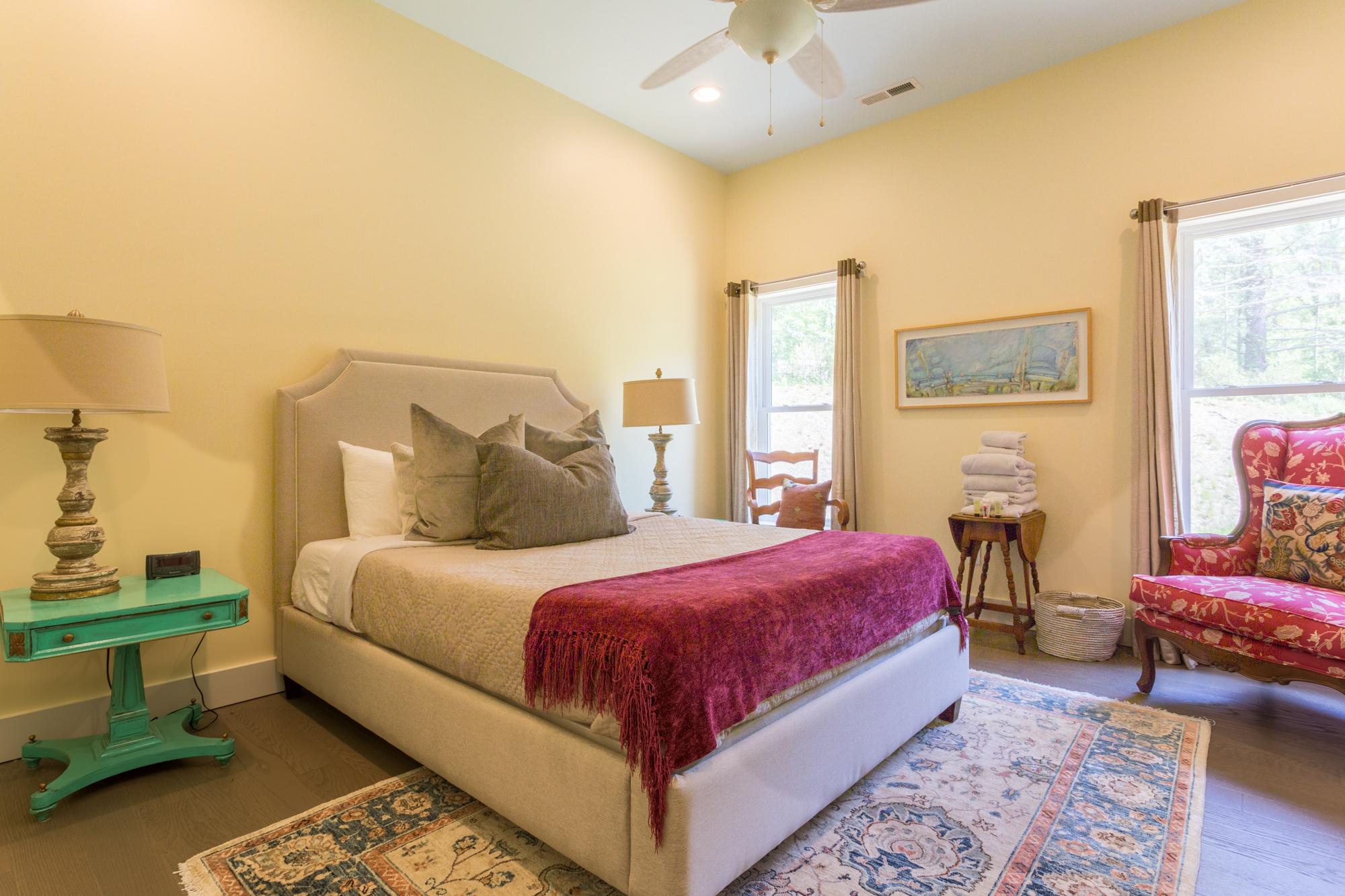 wide view of bedroom