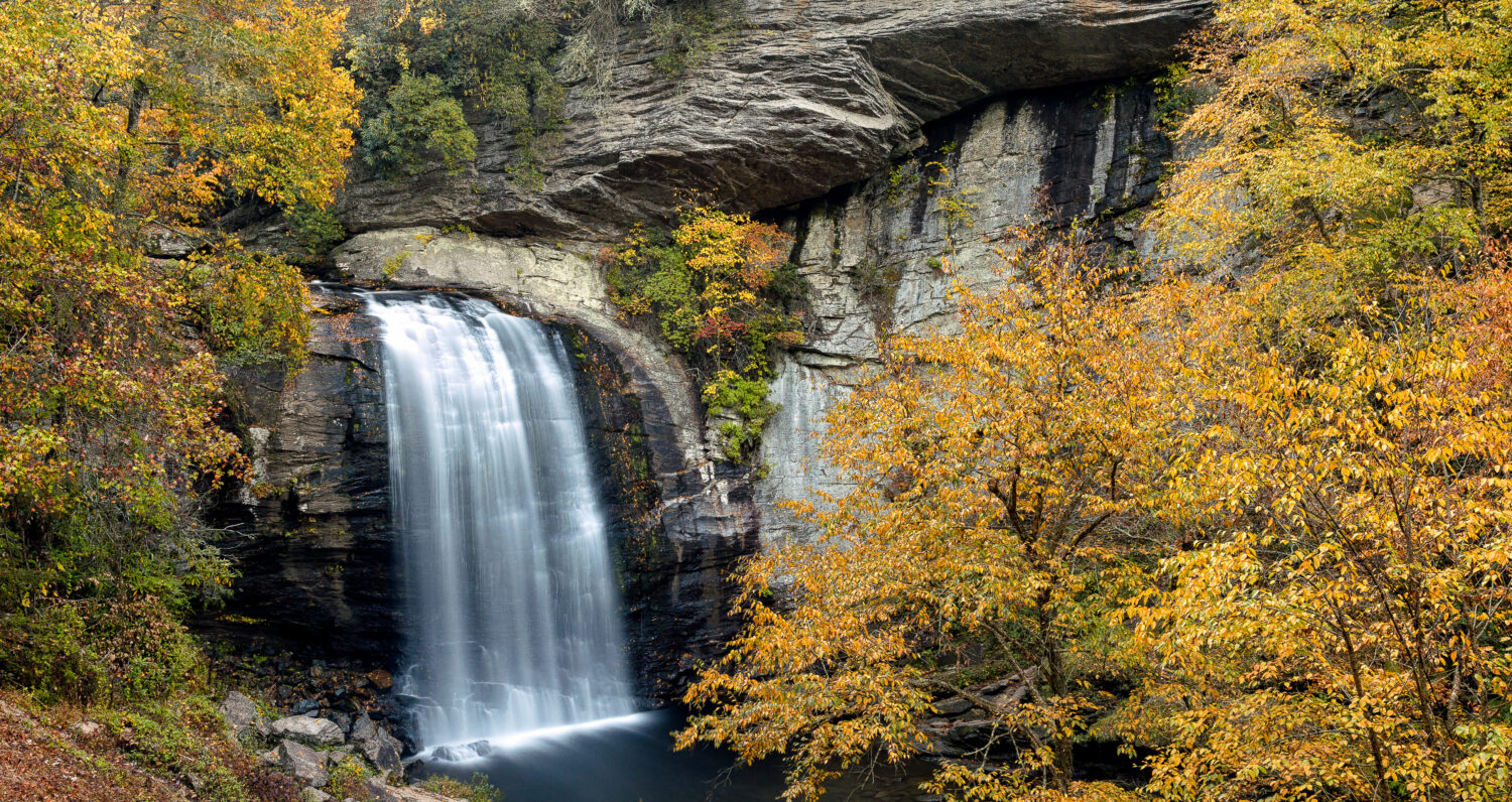 image of looking glass falls