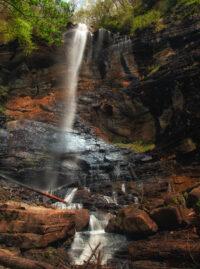 image of rainbow falls sc
