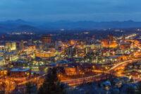 asheville cityscape 2016